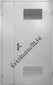 Нестандартная металлическая дверь. Модель 003-035