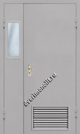 Нестандартная металлическая дверь. Модель 003-036