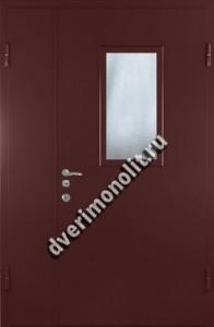 Нестандартная металлическая дверь. Модель 003-037