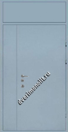 Нестандартная металлическая дверь. Модель 003-038