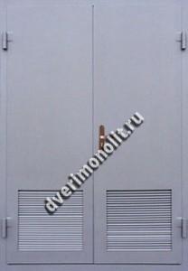 Нестандартная металлическая дверь. Модель 003-042