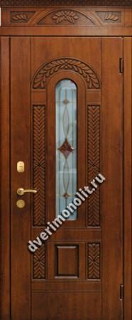 Нестандартная металлическая дверь. Модель 003-043