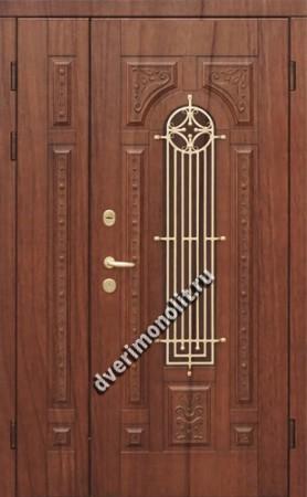 Нестандартная металлическая дверь. Модель 003-044