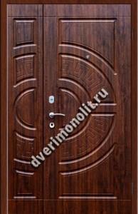 Нестандартная металлическая дверь. Модель 003-046