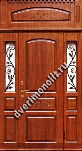 Нестандартная металлическая дверь. Модель 003-047