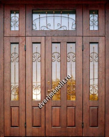 Нестандартная металлическая дверь. Модель 003-048