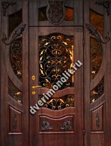 Нестандартная металлическая дверь. Модель 003-049
