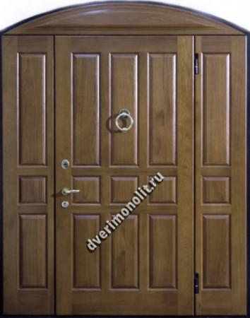 Нестандартная металлическая дверь. Модель 003-050