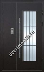 Парадная металлическая дверь с домофоном, Модель 007-002