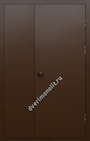 Входная металлическая дверь для подъезда, модель 005-001