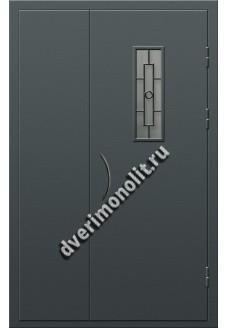 Входная металлическая дверь для подъезда, модель ПП-010