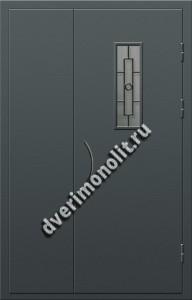 Входная металлическая дверь для подъезда, модель 005-010