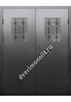 Входная металлическая дверь для подъезда, модель ПП-011