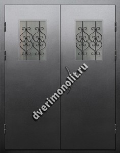Входная металлическая дверь для подъезда, модель 005-011