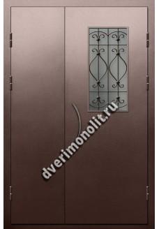 Входная металлическая дверь для подъезда, модель ПП-012