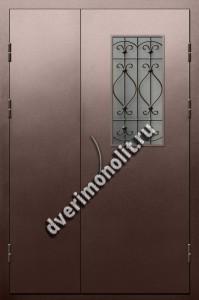 Входная металлическая дверь для подъезда, модель 005-012