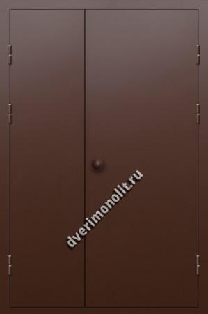 Входная металлическая дверь для подъезда, модель 005-003