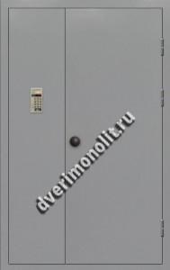 Входная металлическая дверь для подъезда, модель 005-005