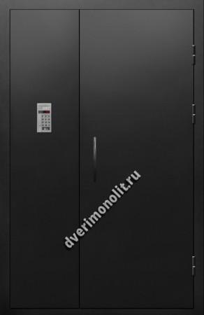 Входная металлическая дверь для подъезда, модель 005-006