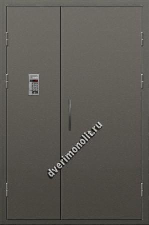 Входная металлическая дверь для подъезда, модель 005-007