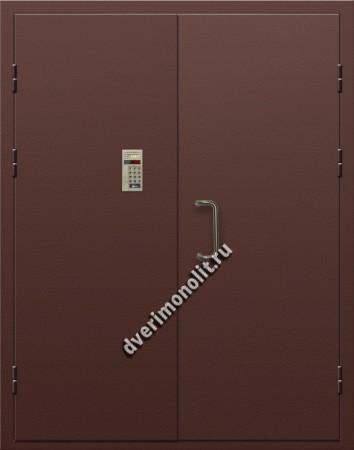 Входная металлическая дверь для подъезда, модель 005-008