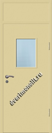 Входная металлическая дверь со стеклопакетом 006-006