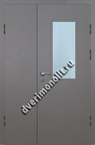 Входная металлическая дверь со стеклопакетом 006-008
