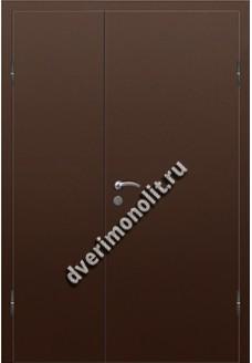 Входная дешевая тамбурная дверь - НТД-010