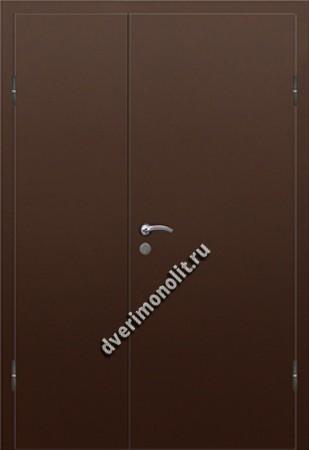 Входная дешевая тамбурная дверь - 004-010