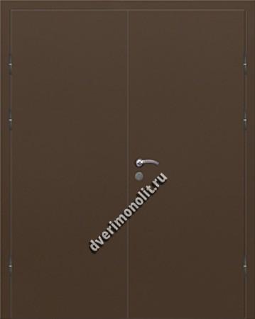 Входная дешевая тамбурная дверь - 004-012