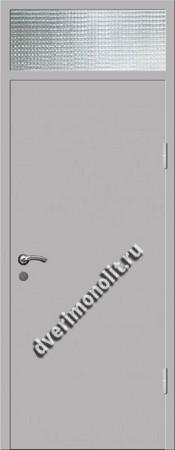 Входная тамбурная дверь со стеклом - 008-004