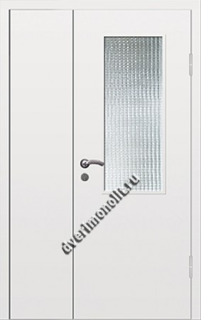 Входная тамбурная дверь со стеклом - 008-007
