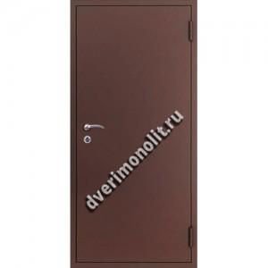 Входная металлическая утепленная дверь, модель 010-001