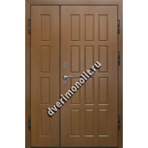 Входная металлическая утепленная дверь, модель 010-010