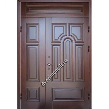 Входная металлическая утепленная дверь, модель 010-012