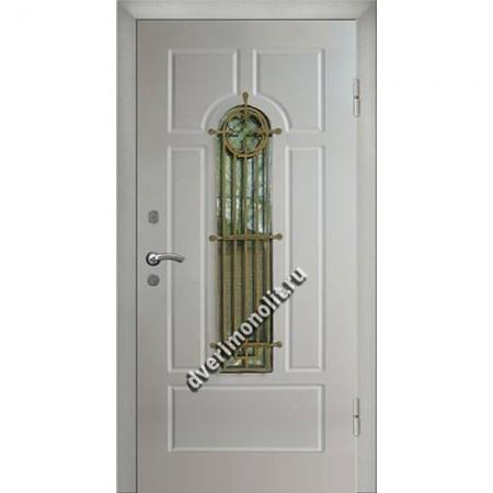 Входная металлическая утепленная дверь, модель 010-014