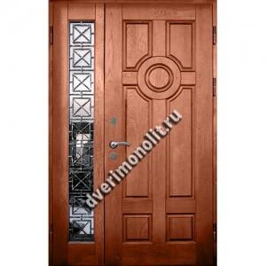 Входная металлическая утепленная дверь, модель 010-015