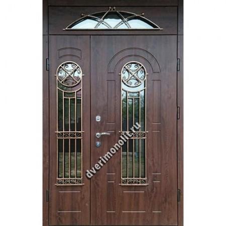 Входная металлическая утепленная дверь, модель 010-016