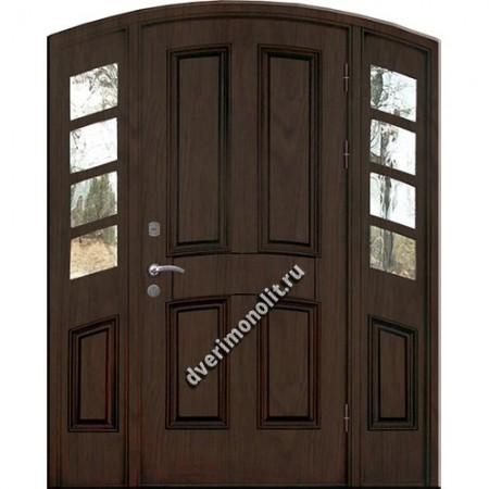 Входная металлическая утепленная дверь, модель 010-017