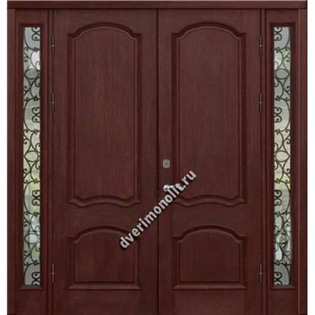 Входная металлическая утепленная дверь, модель 010-018