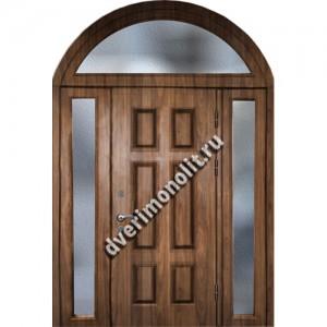 Входная металлическая утепленная дверь, модель 010-020