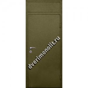 Входная металлическая утепленная дверь, модель 010-003