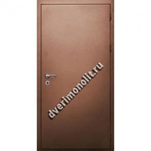 Входная металлическая утепленная дверь, модель 010-005