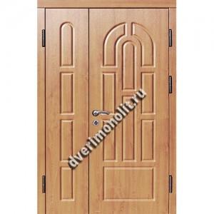 Входная металлическая утепленная дверь, модель 010-007