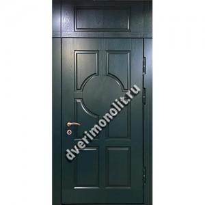Входная металлическая утепленная дверь, модель 010-008