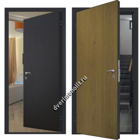 Металлическая дверь внутреннего открывания, модель 007-005