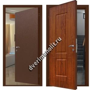 Металлическая дверь внутреннего открывания, модель 007-006