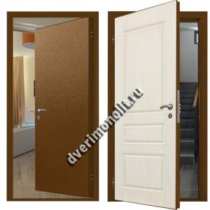 Металлическая дверь внутреннего открывания, модель 007-008