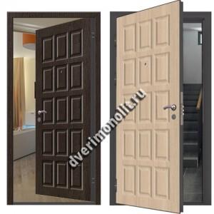 Металлическая дверь внутреннего открывания, модель 007-009