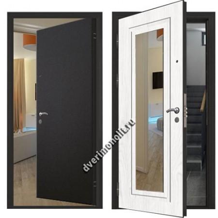 Металлическая дверь внутреннего открывания, модель 007-010